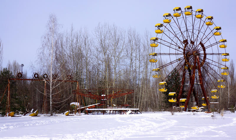 Download Pripyat Amusement Park stock image. Image of catastrophe - 38097531