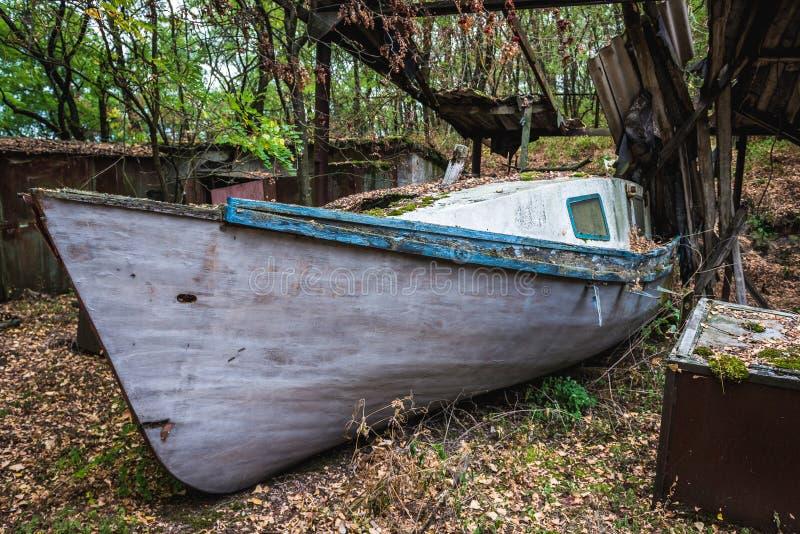 Pripyat en Ucrania imagen de archivo libre de regalías
