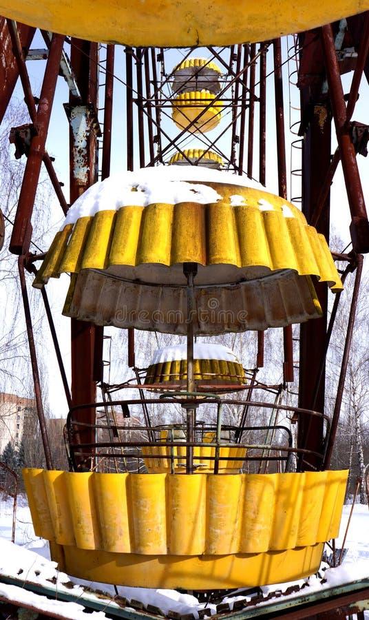Pripyat Ferris Wheel foto de archivo libre de regalías