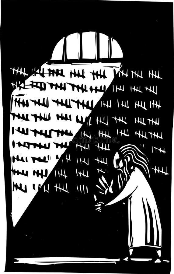 Prisão ilustração stock