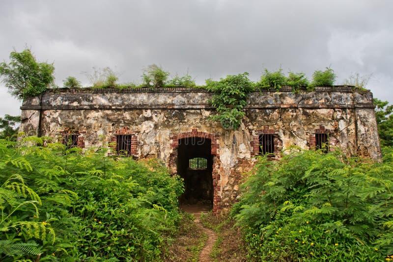 Prisão abandonada fotografia de stock royalty free