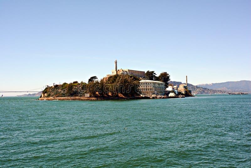 Prisão de Alcatraz, EUA fotografia de stock