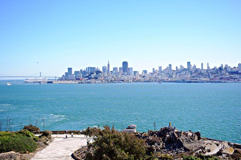 Prisão de Alcatraz, EUA imagens de stock royalty free
