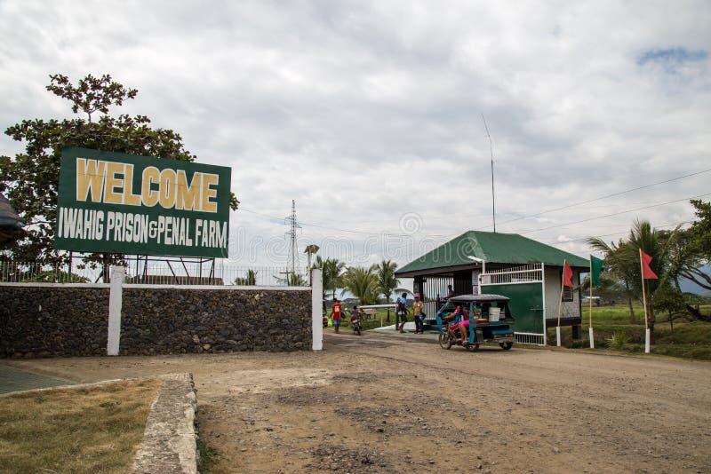 Prisão de Iwahig e exploração agrícola penal fotos de stock