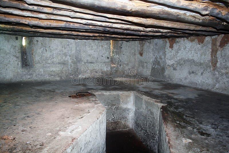Prisão dos escravos imagem de stock