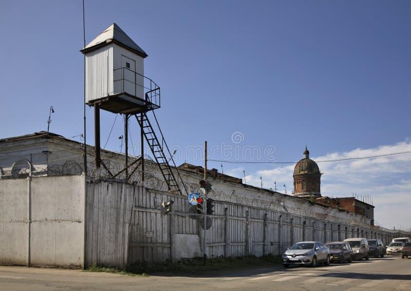 Prisão em Kungur Perm Krai Rússia imagem de stock royalty free