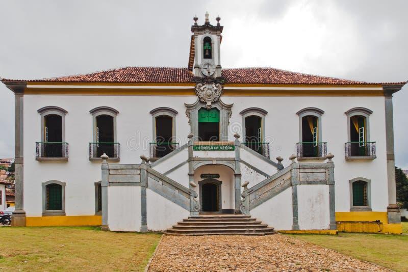 Prisão Mariana de construção histórico Brasil fotos de stock