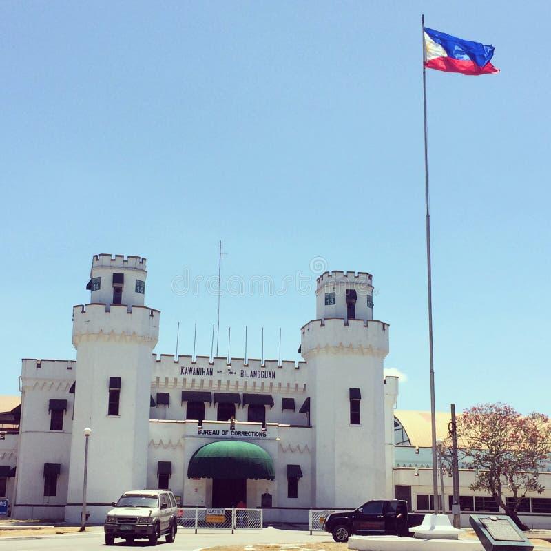 Prisão nova de Bilibid fotografia de stock