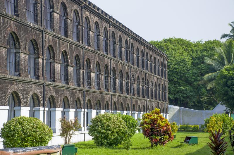 A prisão velha do museu para mover Blair India fotos de stock royalty free