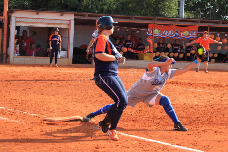 Priscilla Brandi - softball stock photography