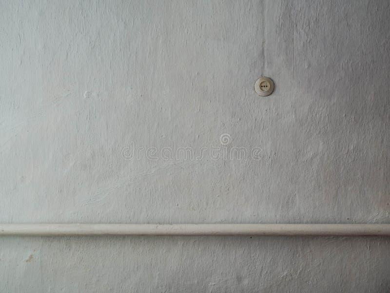 Prise électrique sur le mur photo libre de droits