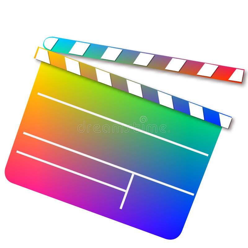 Prise colorée de hollywood - paix illustration libre de droits