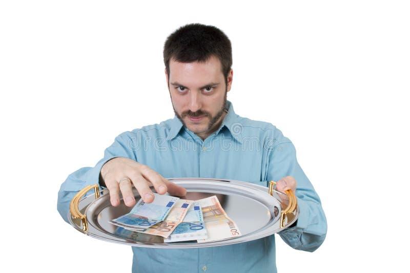 prise d'argent photo stock
