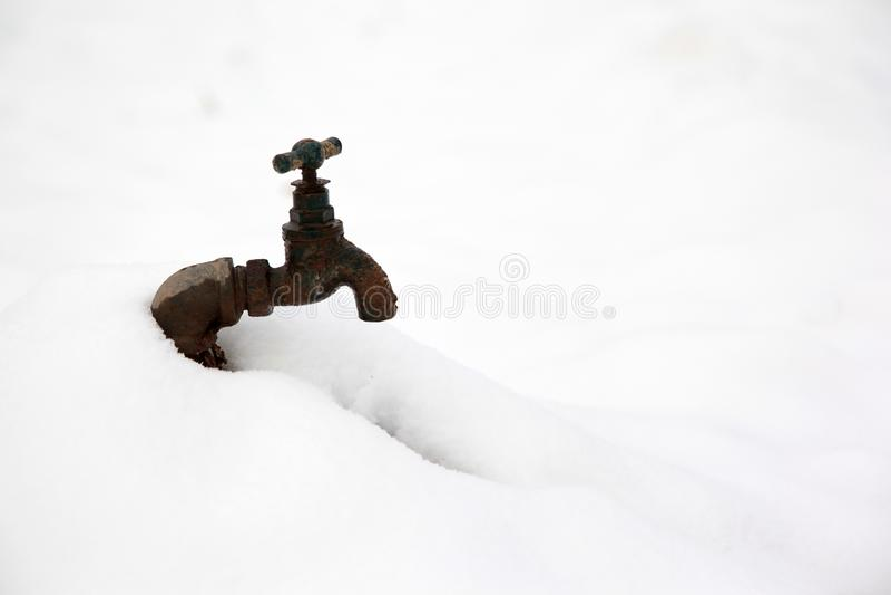Prise d'eau photos libres de droits