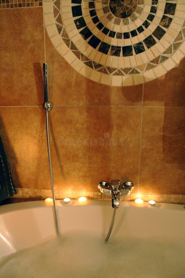 prise de bulles de bain images stock
