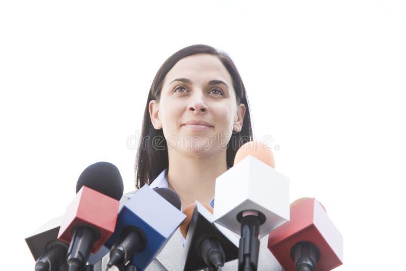 prise de parole en public à photo libre de droits