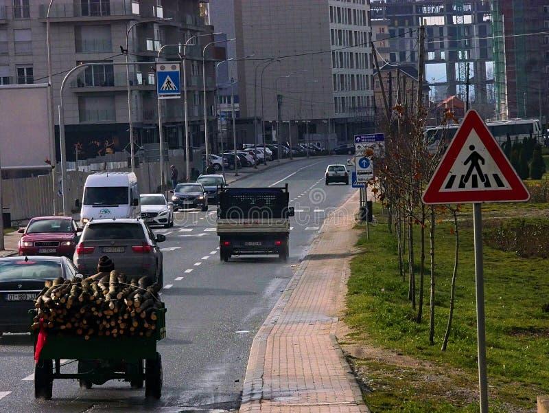 Prishtina, Косово стоковое изображение