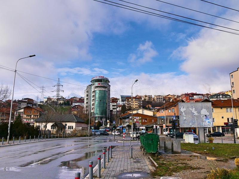 Prishtina стоковое изображение rf