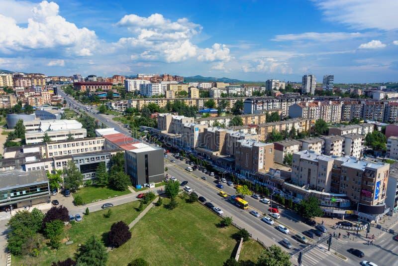 Prishtina, Kosovo Cityscape. PRISHTINA, KOSOVO - JULY 2: Cityscape view of Prizren, Kosovo on July 1, 2018 royalty free stock images