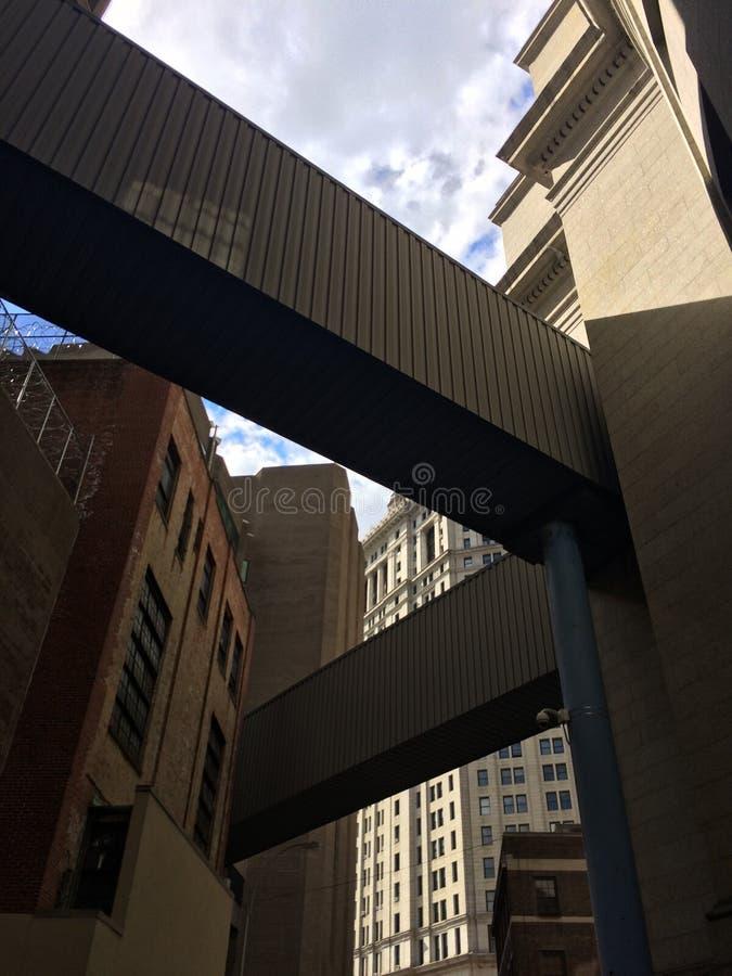 Prisión única de la arquitectura de NYC fotos de archivo libres de regalías