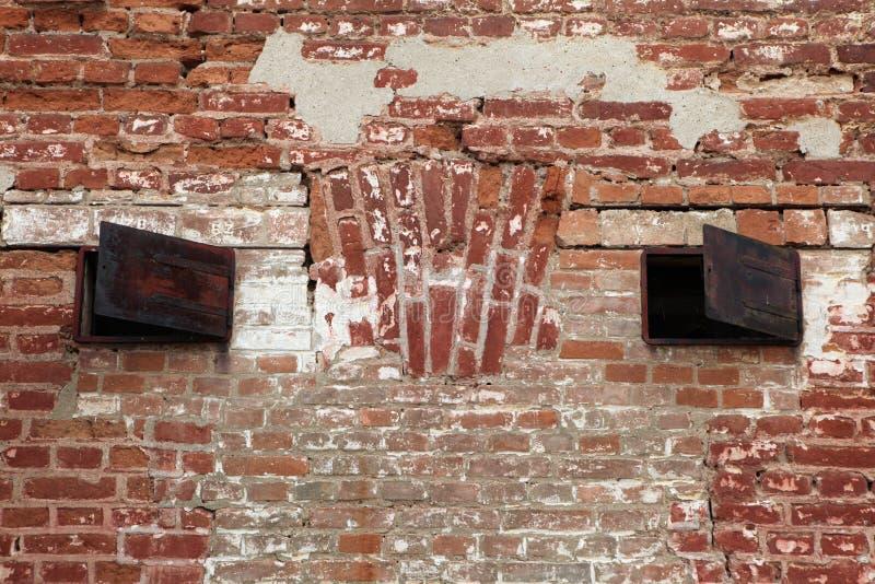 Prisión anterior de Gestapo en Terezin foto de archivo