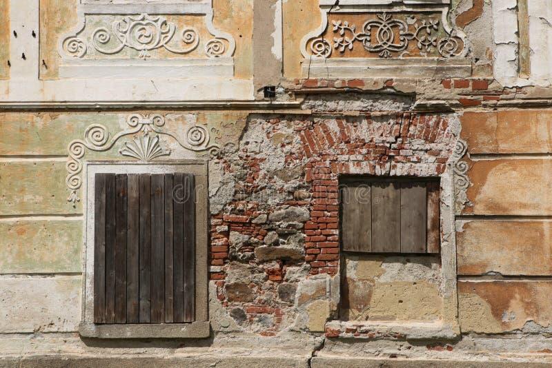 Prisión anterior del monasterio en el monasterio de Vyssi Brod fotografía de archivo