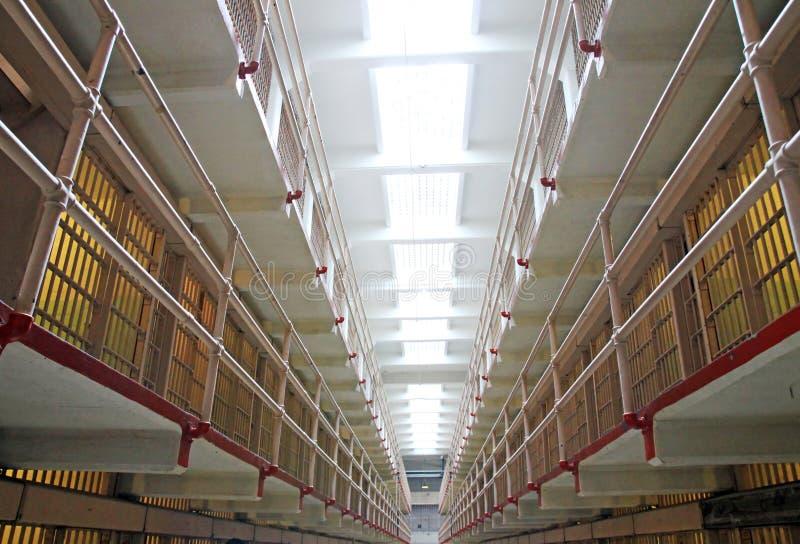 Prisión de Alcatraz en San Francisco, los E.E.U.U. foto de archivo