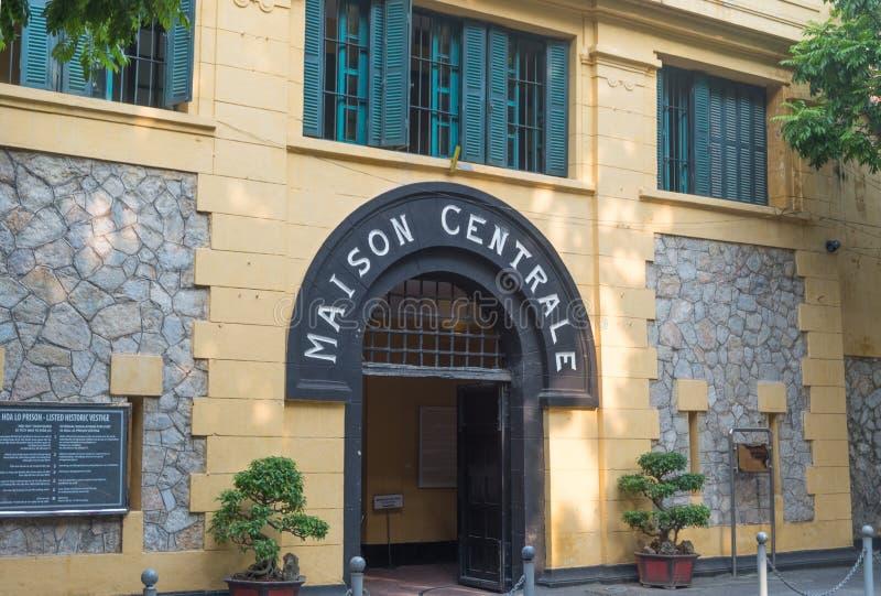 Prisión de Hoa Lo en Hanoi Vietnam imágenes de archivo libres de regalías