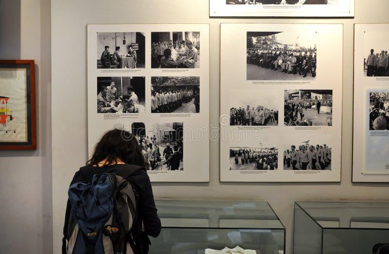 Prisión de Hoa Lo, Hanoi, Vietnam imagen de archivo