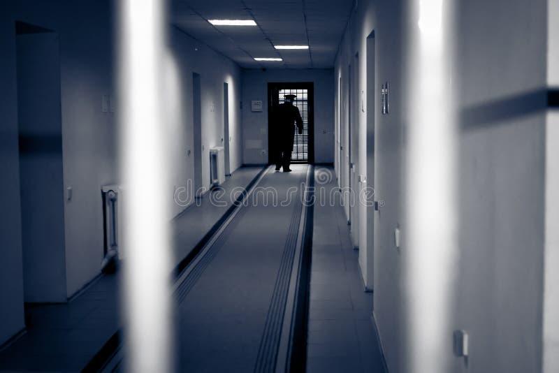 Prisión del pasillo. imágenes de archivo libres de regalías