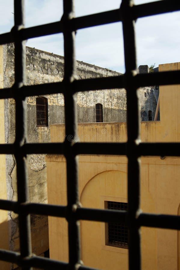 prisión militar anterior foto de archivo libre de regalías