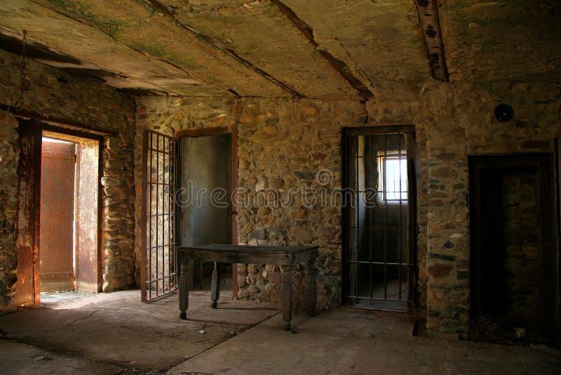Prisión occidental vieja imagenes de archivo
