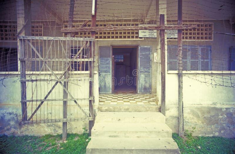 Prisión S21 fotos de archivo libres de regalías