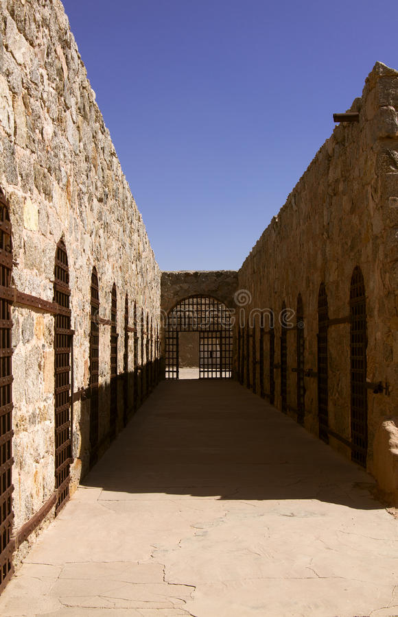 Prisión territorial en Yuma, Arizona, los E.E.U.U. de Arizona imágenes de archivo libres de regalías