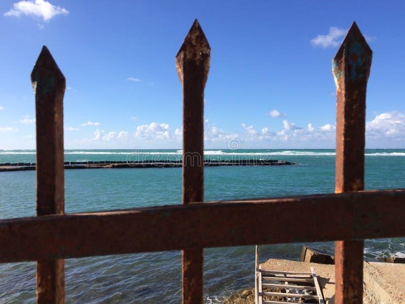 Prisioneiro do mar imagem de stock royalty free