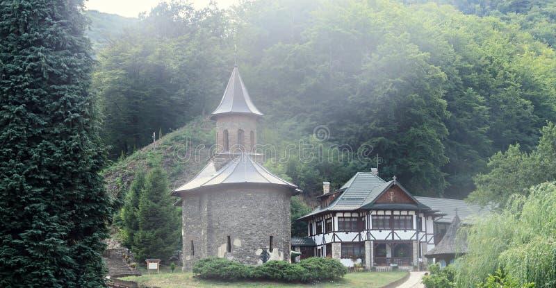Prislop-Kloster vom Bezirk Hunedoara, von Rumänien und von Arsenie Boca stockfotografie