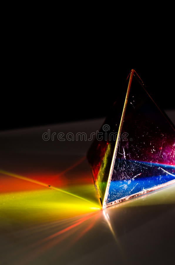 Free Prism And Light Experiment Royalty Free Stock Images - 31534769
