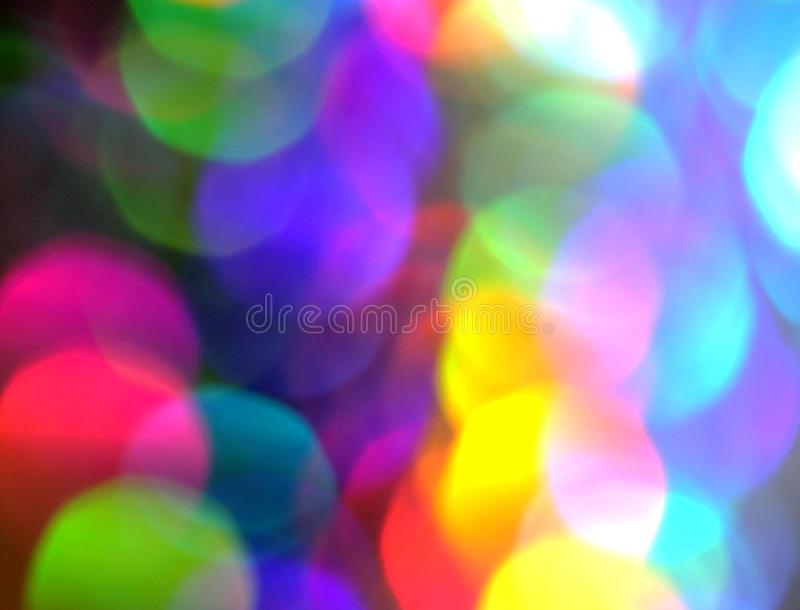 Prism Color Abstract. Abstract of light reflection of prism in rainbow of colors royalty free stock photography