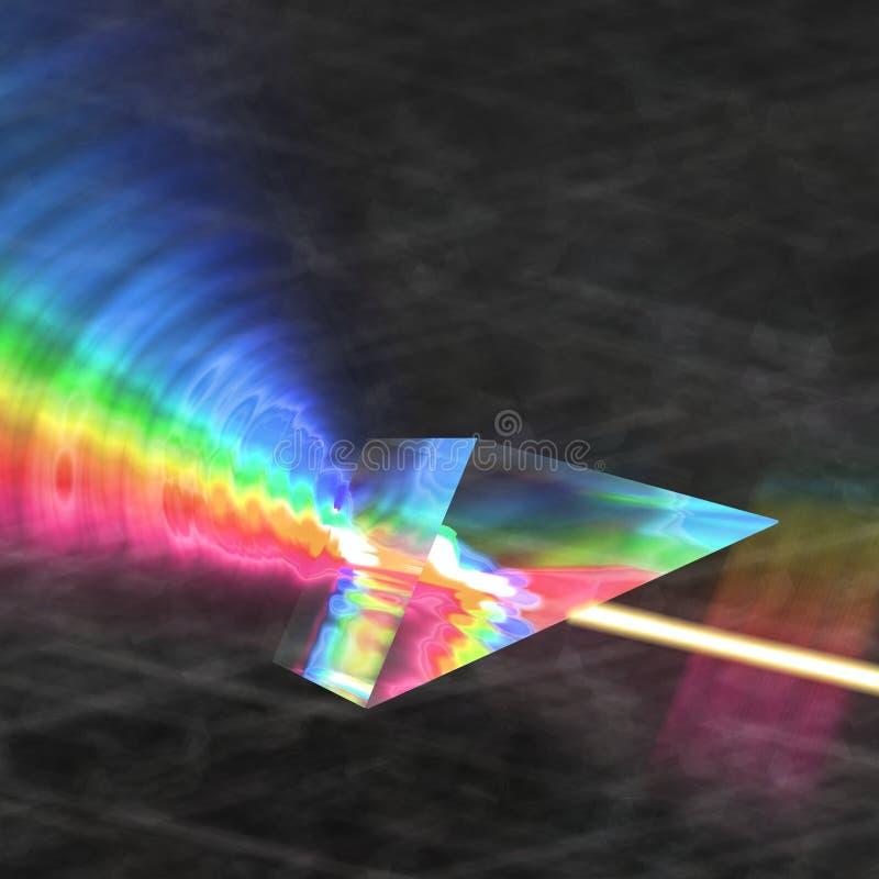Prism Reflecting Light Stock Photos