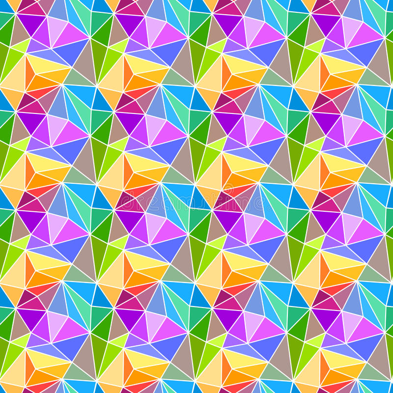 Prism triangles geometric background stock illustration