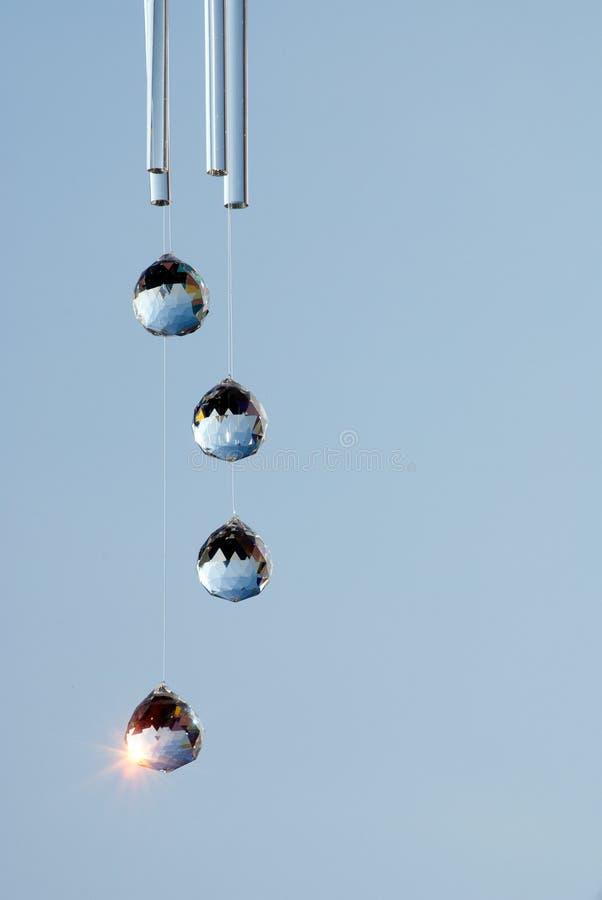 PRISMA com reflexão clara fotografia de stock royalty free