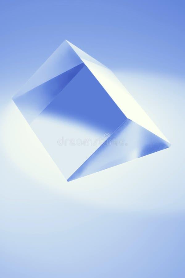 Prisma de vidro fotografia de stock