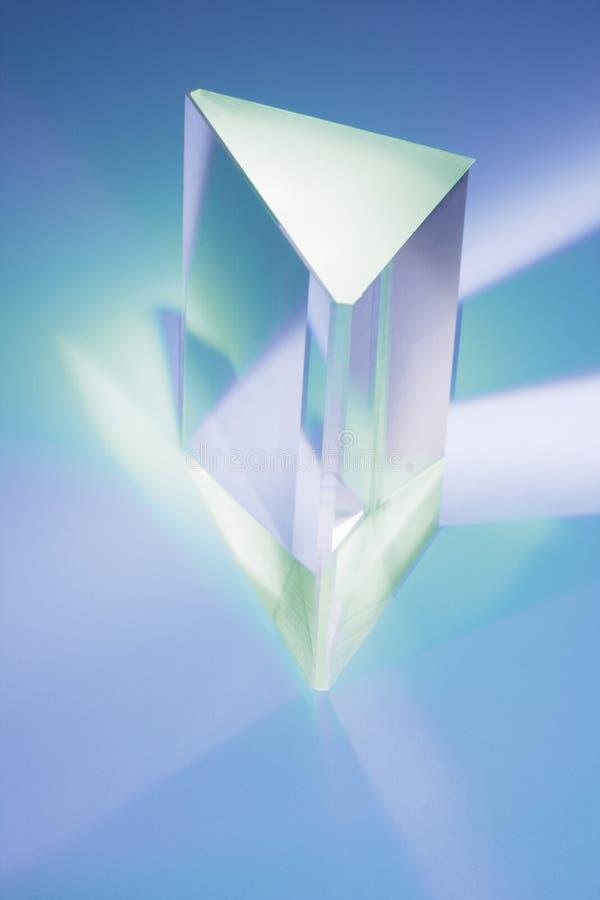 Prisma de vidro foto de stock
