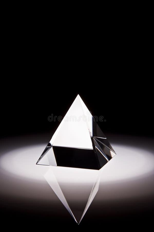 Prisma di cristallo. fotografia stock libera da diritti