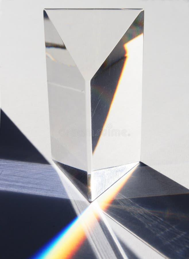 Prisma und Spektrum lizenzfreie stockfotografie