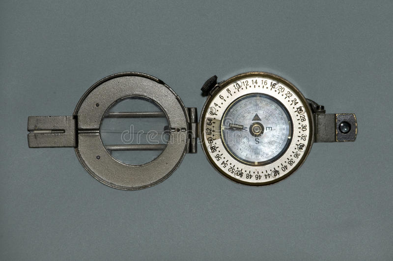 Prismatic Compass Royalty Free Stock Images