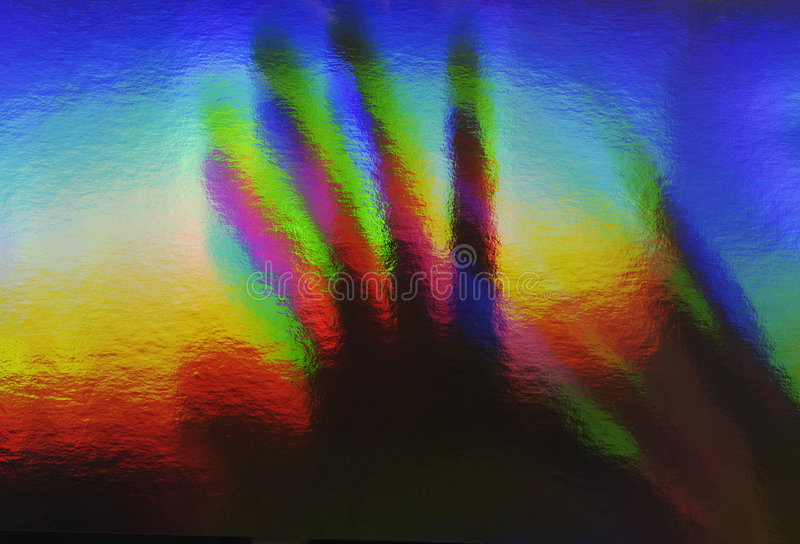 prismatronic hand fotografering för bildbyråer