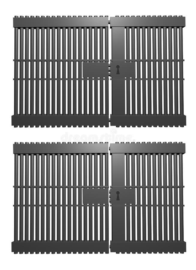Download Prison stock illustration. Image of guilt, cold, justice - 16496153