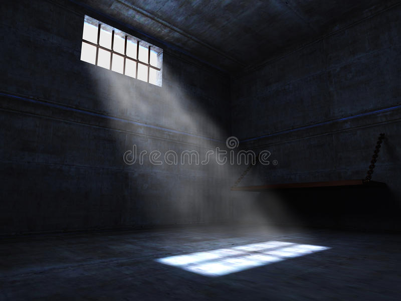 Prison illustration stock