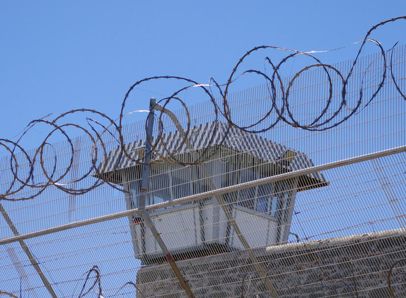 Prison images stock